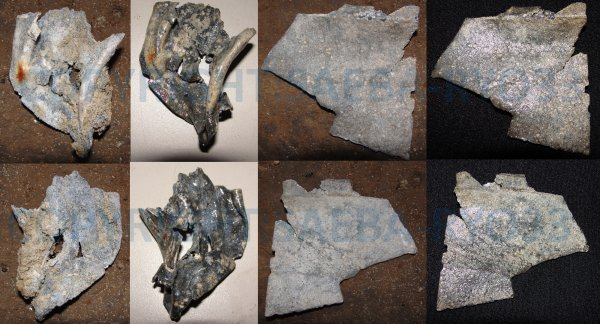 Restaurations de mes objets de fouilles du 28/09