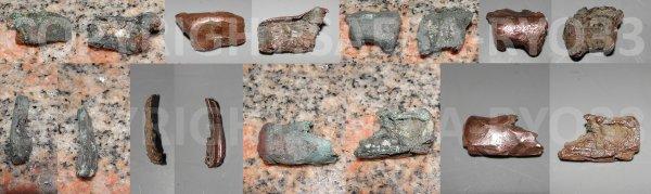 Restaurations de mes objets de fouilles du 15/03