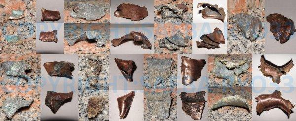Restaurations de mes objets de fouilles du 15/05