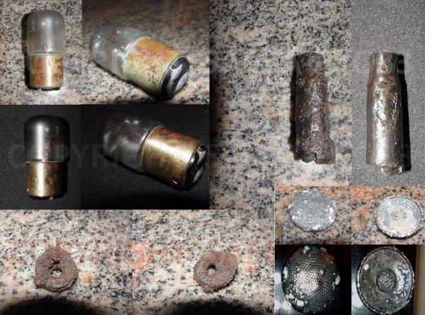 Restaurations de mes objets de fouilles du 10/10
