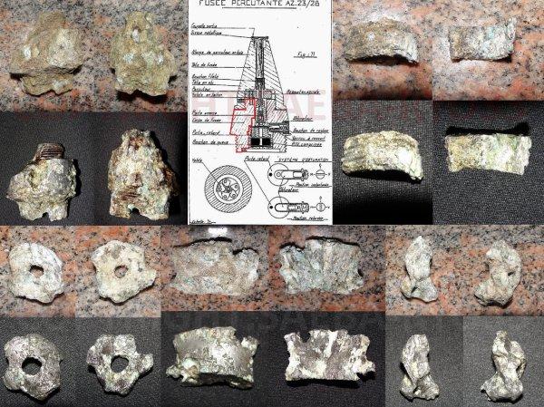 Restaurations de mes objets de fouilles du 21/02