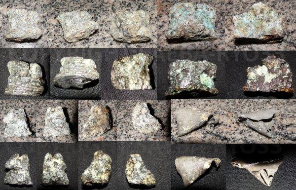 Restaurations de mes objets de fouilles du 23/04