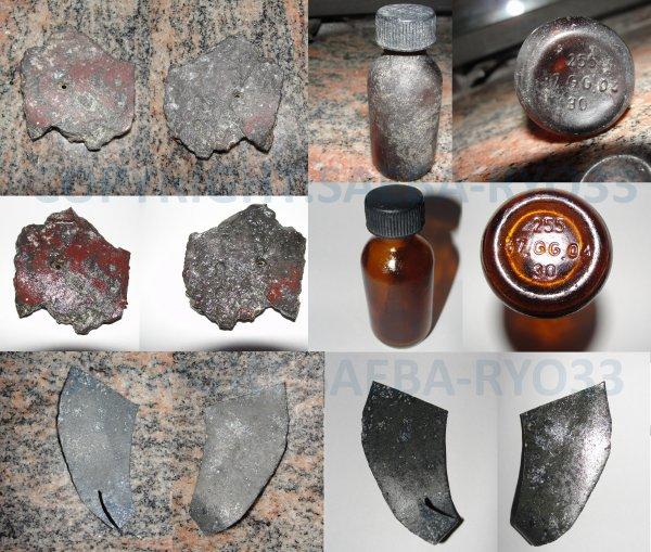 Restaurations de mes objets de fouilles du 25/09