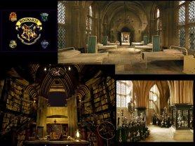 Poudlard: L'école de sorcellerie.