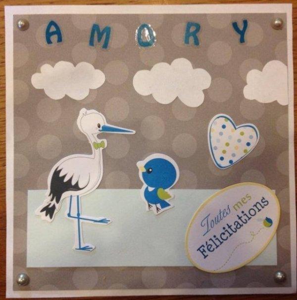 Carte de naissance - Amory