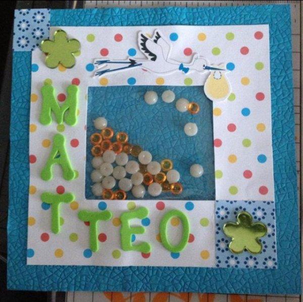 Carte de naissance - Matteo