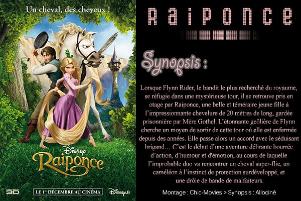 ► Rɑiponce ♥ ◇ Réɑlisé pɑr : Byron Howɑrd et Nɑthɑn Greno ♠