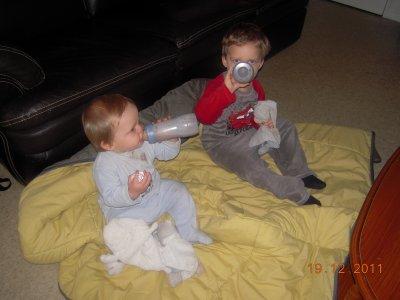 Mes bébés au reveil