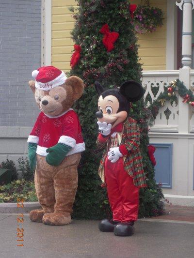 Disney le 22 decembre 2011