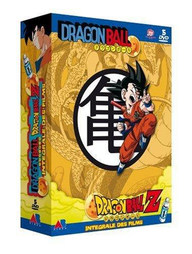 Dragon Ball/Z/GT Films et OAV– Intégrale – 2 Coffrets DVD