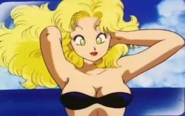 La bimbo blonde