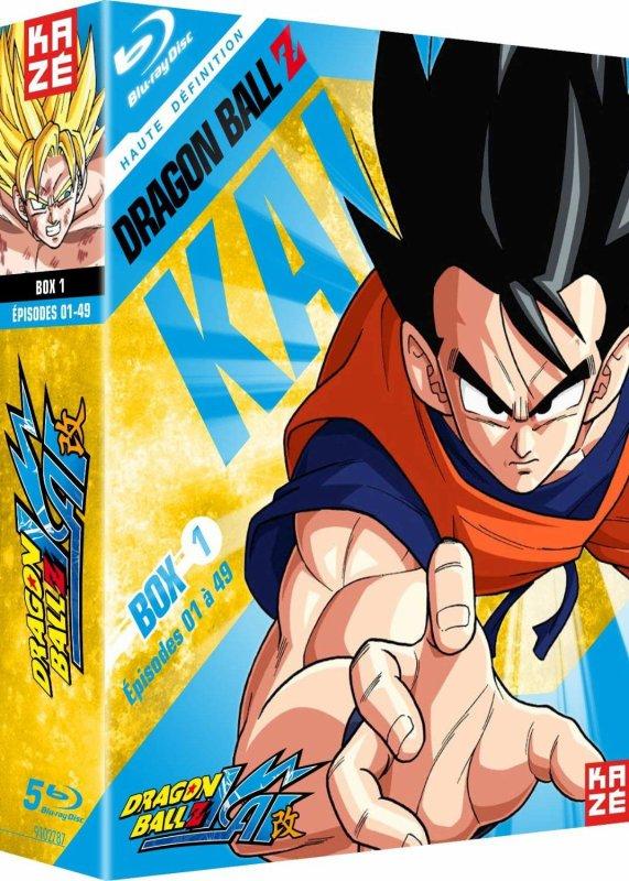 Dragon Ball Z Kai série – Intégrale – 4 Coffrets Blu-ray