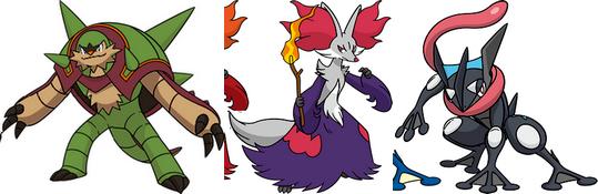 Les derni res volutions des 3 pokemon de d part en chromatique blog de xerneas pokemon x - Les mega evolution pokemon x et y ...