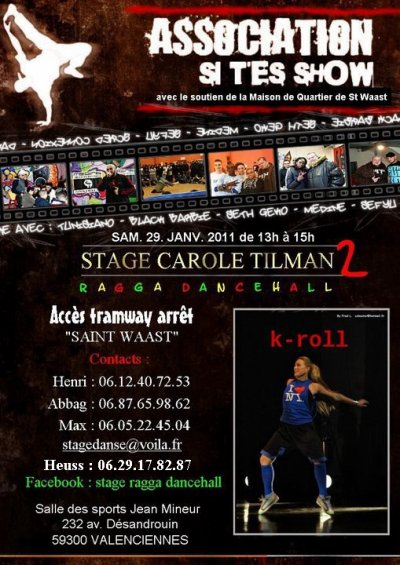 stage ragga dancehall