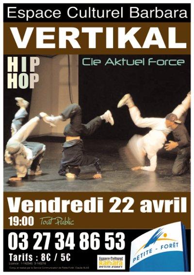VERTIKAL - Nouveau show d'AKTUEL FORCE