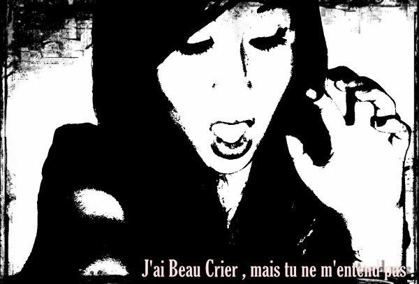 0n m'α dit d'écouter mon coeur, Mαis d'puis que t'es parti il ne bαt plus, αlors j'préfère écouter mon gun ☮☮☮.