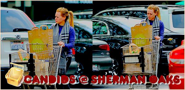 ♦ Your Hilary Duff  SourceHilarieDuff.skyrock.comCatégorie ;  CANDIDS     → 6 AVRIL  Hil faisait du shopping à Sherman OAKS .TOP ou FLOP ?