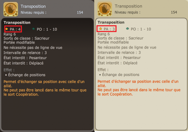 Modification de la 2.7