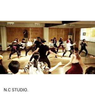 Dance session N.C Studio.