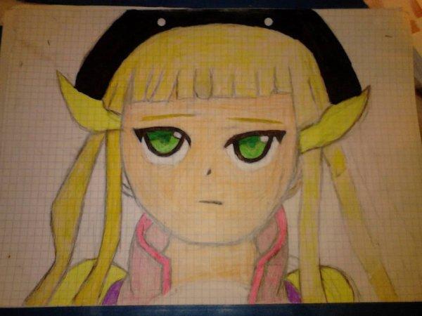 Mon premier et dernier dessin en couleur