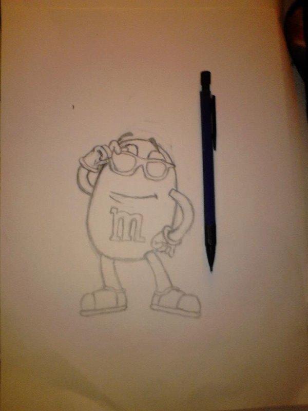 Je commencés a avoir un bon petit coup de crayon ^^