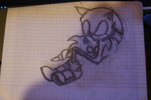 Voila mon premier vrai dessin ^^