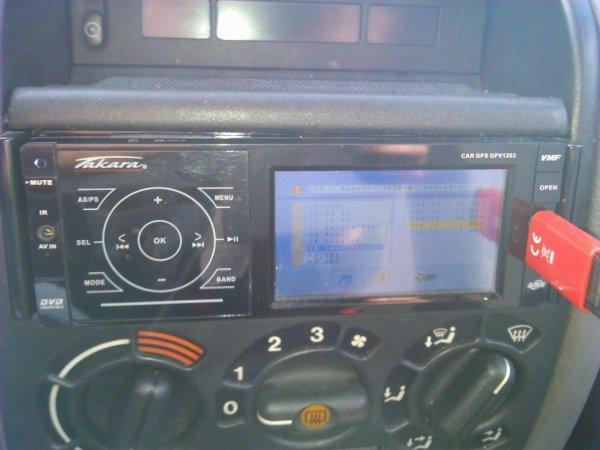 mon autoradio tactile avec gps