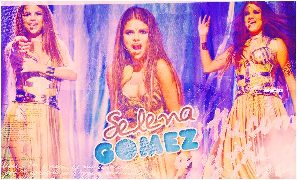 www.Gomeiz.skyrock • • Votre blog source sur la pétillante  Selena Gomez !' ▪  A , travers  candids , photoshoots et beaucoup d'autres, suis tout l'actualite de  Selena Gomez  et de son plus belle humeur !