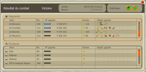 Rasboul   avec challenge 190 % :D