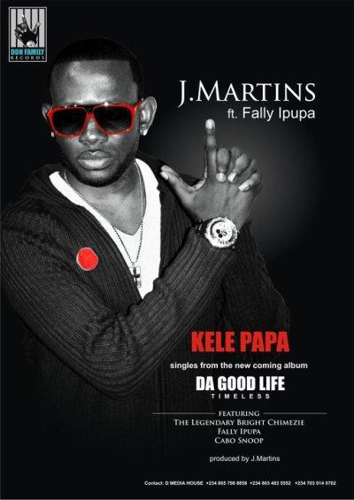 J.Martins en featuring Avec Fally Ipupa encore une fois.