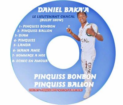 "Cameroun : Ecouter Daniel Baka'a ""Lieutenant Chacal"" de Retour avec ""Pinguiss Bonbon"" et ""Pinguiss Ballon"""