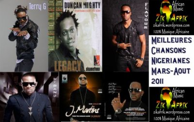 "Nigeria : Telechargez Best Naija Music ""Mars – Aout 2011″ Part.2"