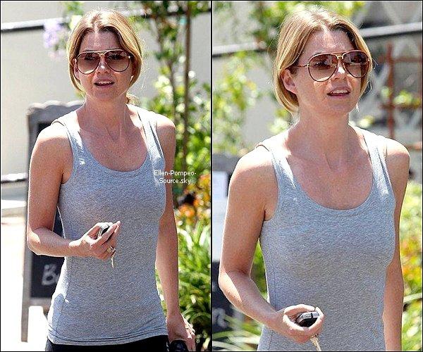 01/08 Ellen a été vue quittant un salon de manucure à LA.