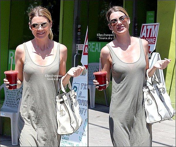 12/08 Ellen a été vue dans la matinée se promenant dans les rues de LA.