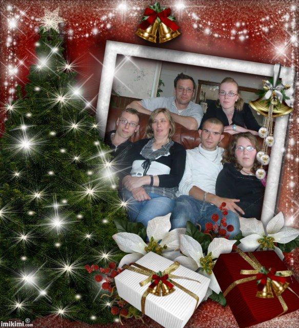 montage de ma famille