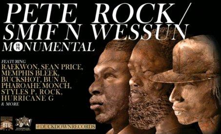 """SMIF N WESSUN extrait de l'album """"MONUMENTAL"""" sortit ce 28 juin, featuring PETE ROCK !"""