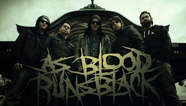 As blood runs black.