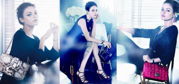 MODE_MILA KUNIS devient la nouvelle égérie de Dior !