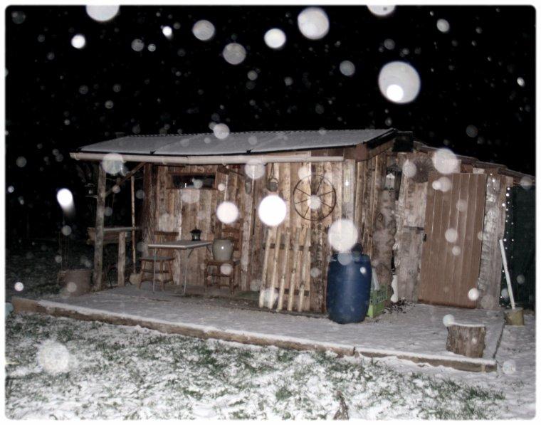 Enfin la neige!!