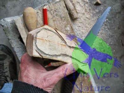 Fabriquer sa cuillère en bois ...