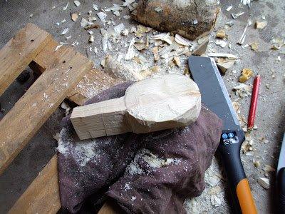 Réalisation d'une Kuksa, tasse en bois finlandaise...