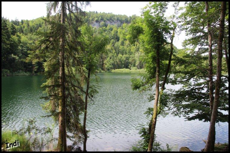 Lac de Bonlieu (Jura)