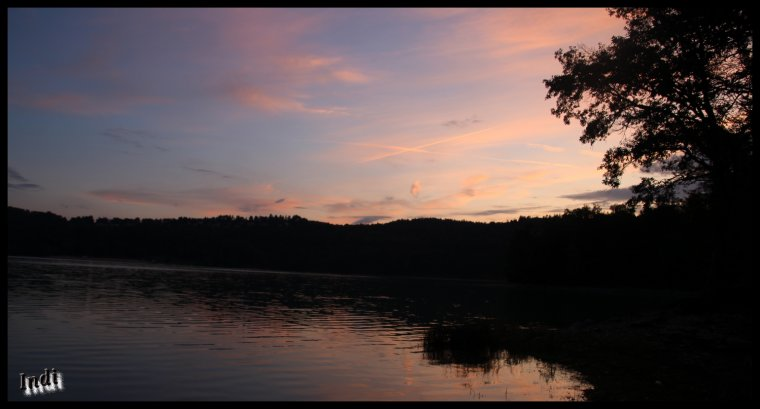 Bivouac au lac de Vouglans...