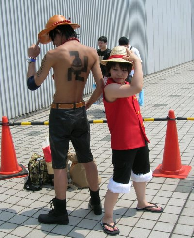 One piece Cosplay de moi en Ace ^^""