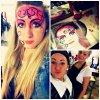Face painting en cours thème tribal ! <3