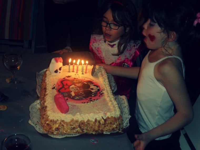 L'Anniversaire de ma petite Sofia ! <3  ( 7ans )