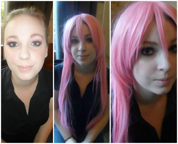 Maquillage sur Manon Pour la Japan :P
