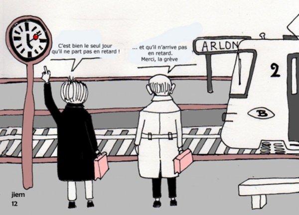 GRÈVE SNCB - INFORMATIONS