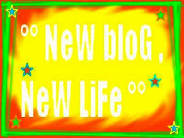 nouveux blog sur un autre site