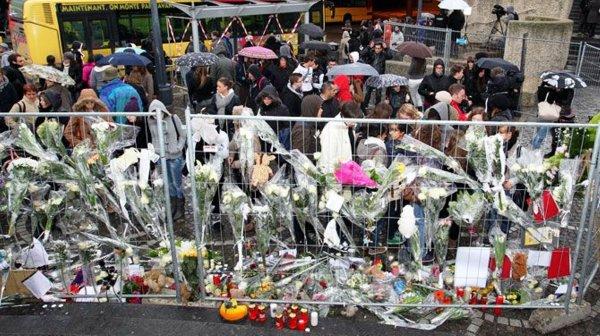 hommage au victimes du drames de liège